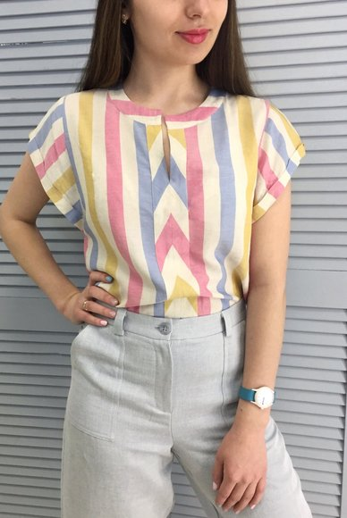 Light Striped Blouse