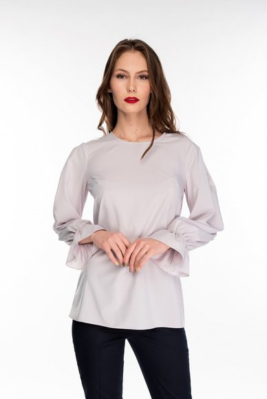 Light gray blouse
