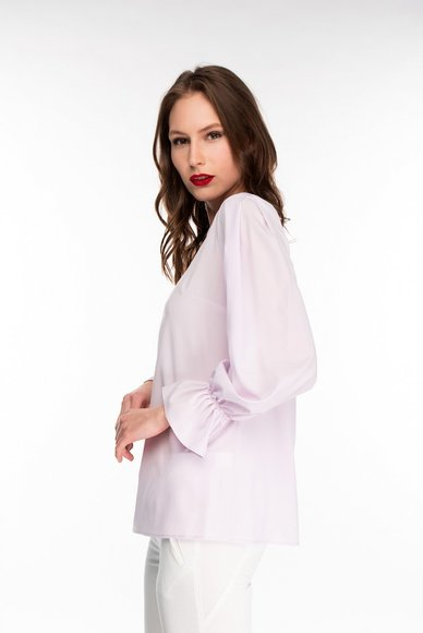 Light lilac blouse