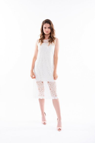 White lace dress, 2 in 1