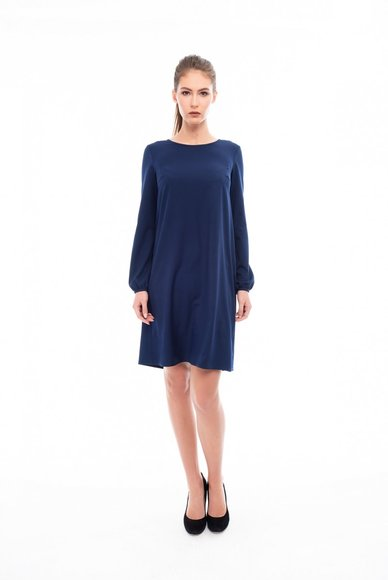 Light navy blue dress