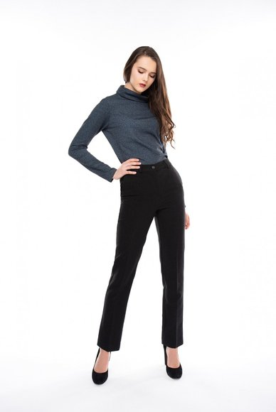 Dark Gray Arrow Pants
